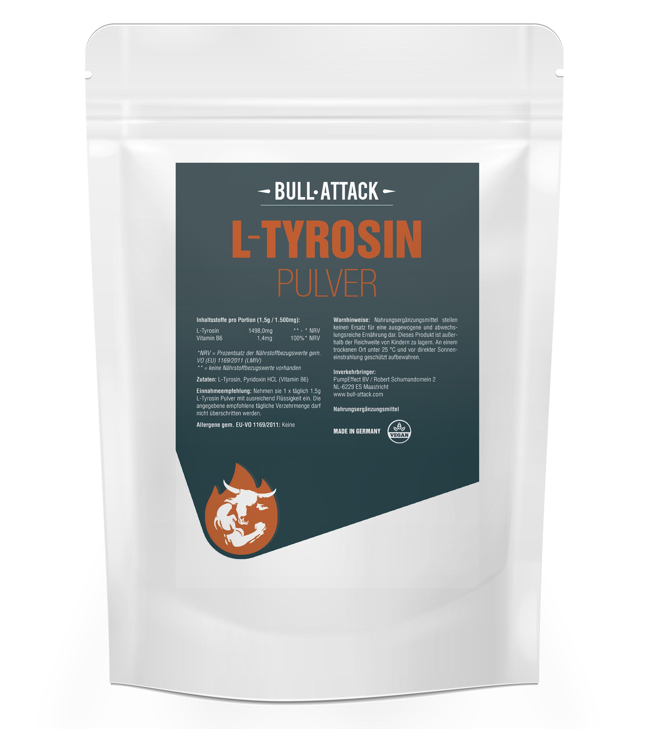 L-Tyrosin Pulver | 250g Pulver