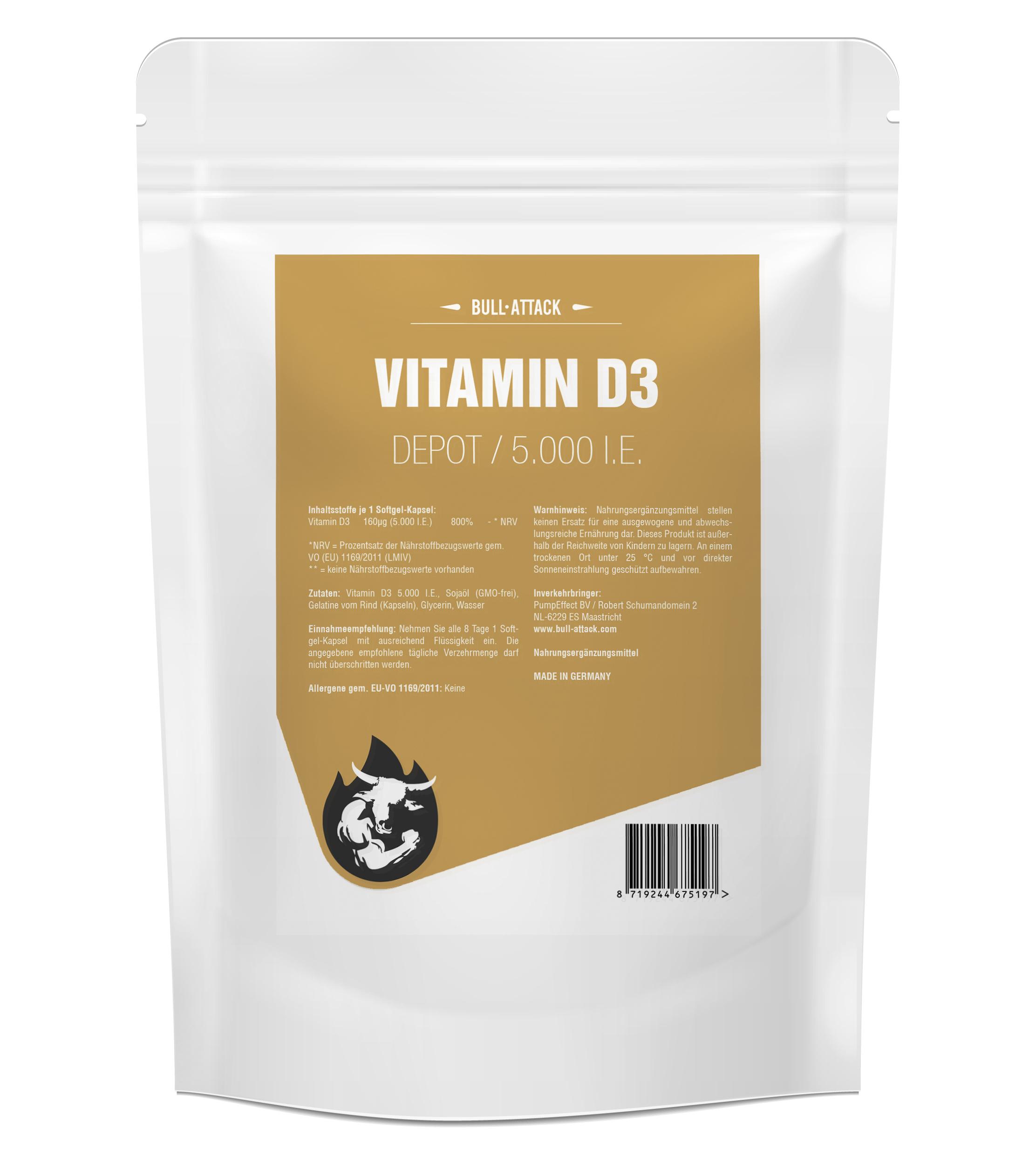 Vitamin D3 Depot 5000 I.E.