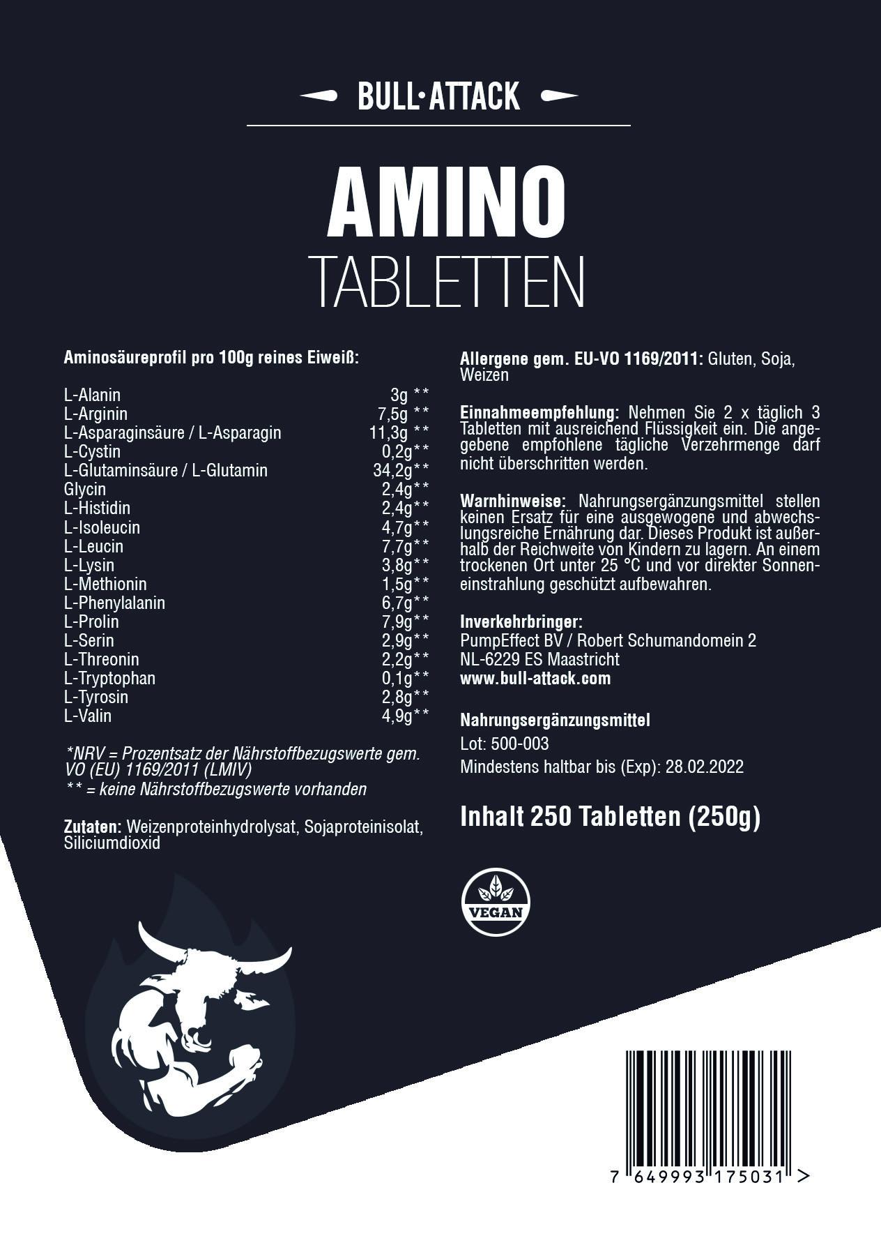 Aminosäure   250 Tabletten