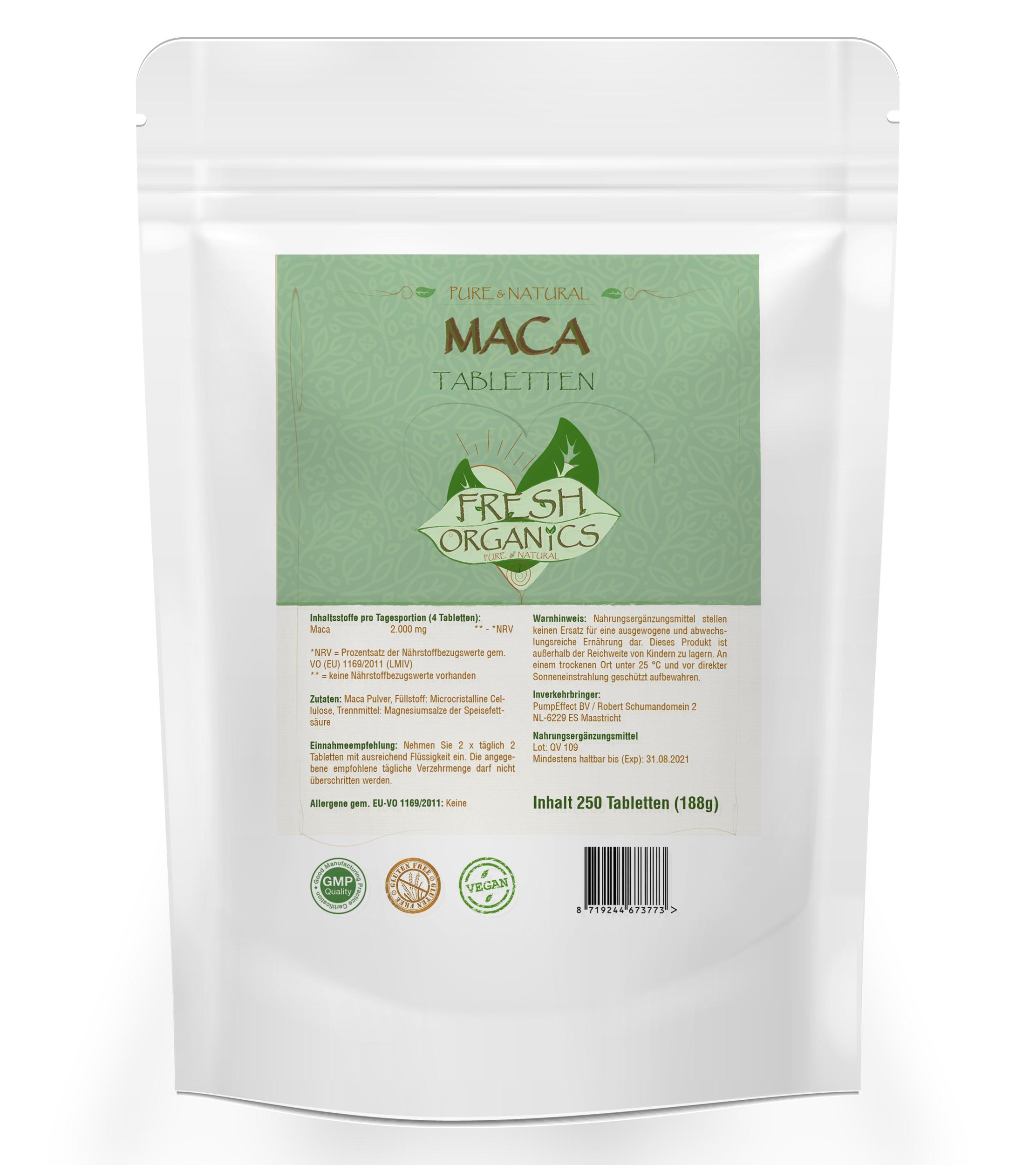 MACA | 250 Tabletten