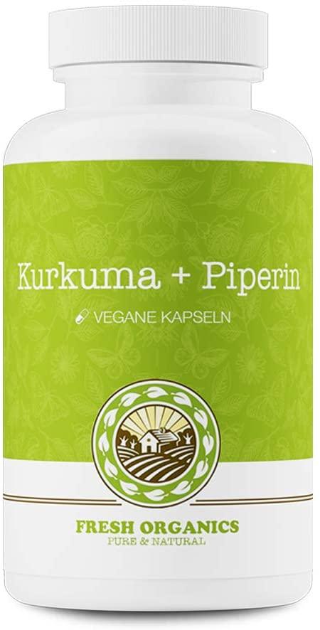 Curcuma + Piperin | 180 Kapseln