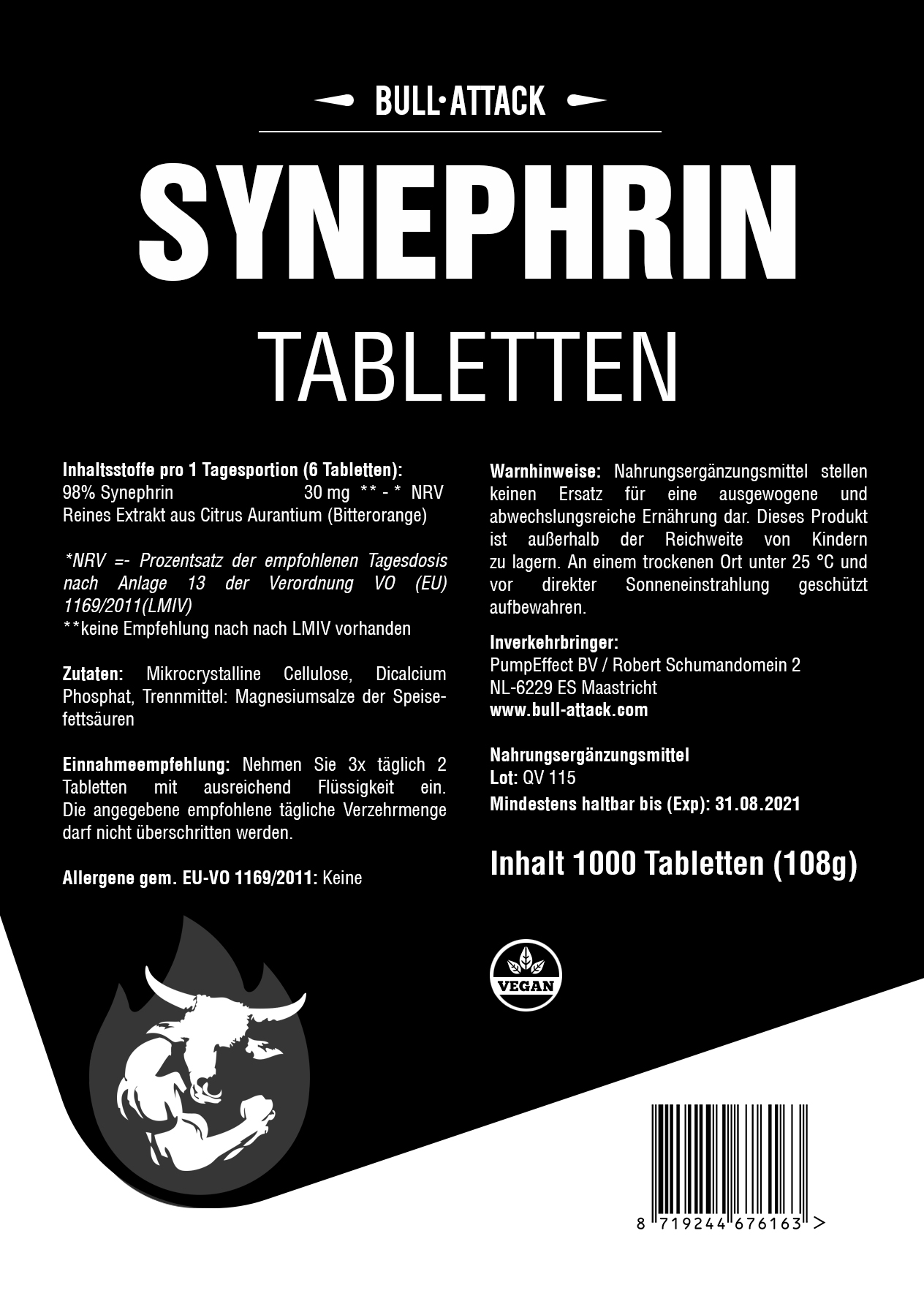 Synephrine  | 1.000 Tabletten