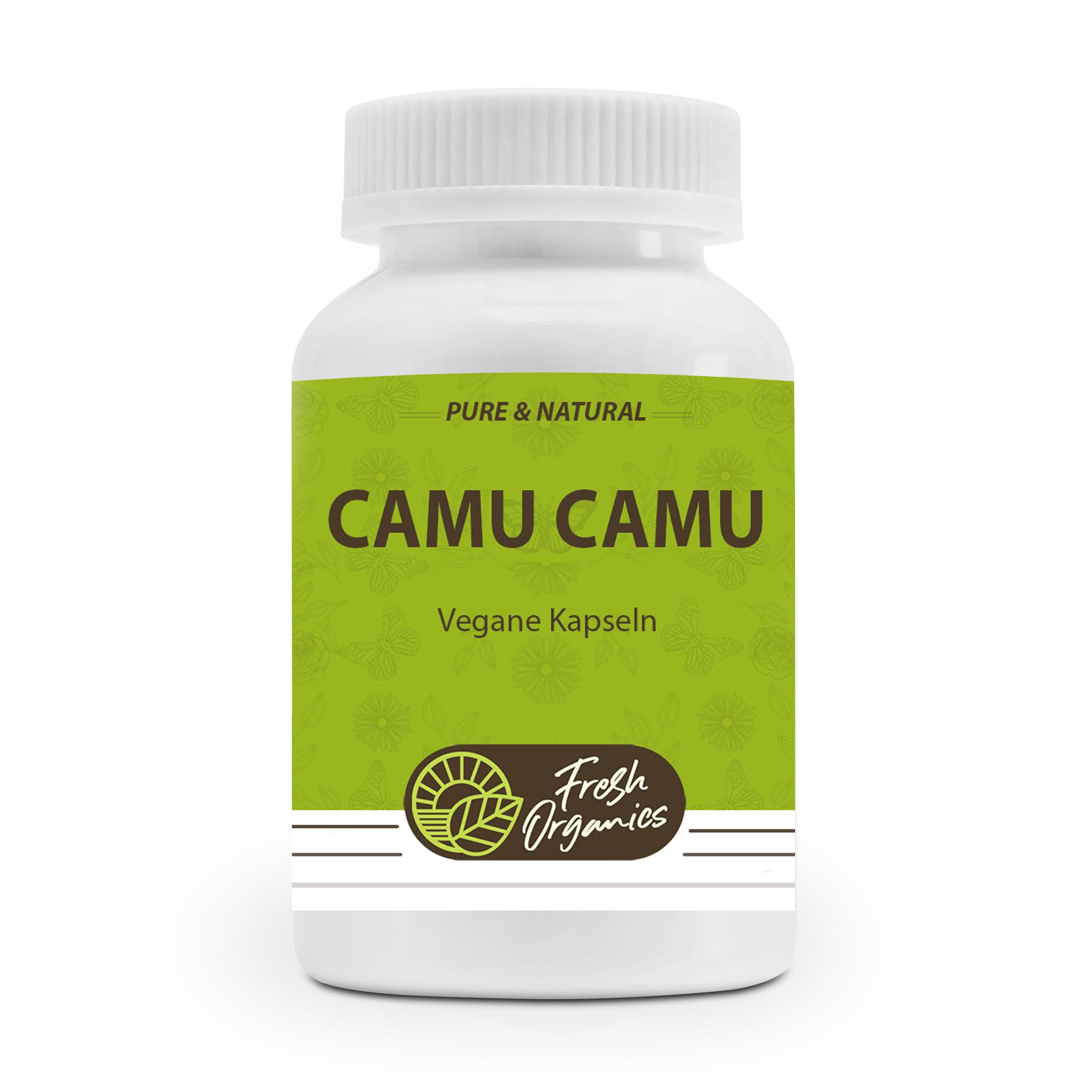 Camu Camu - 90 vegane Kapseln - 1500mg pro Portion