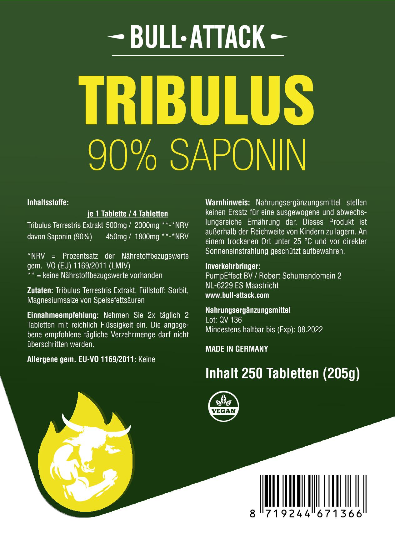 Tribulus | 250 Tabletten