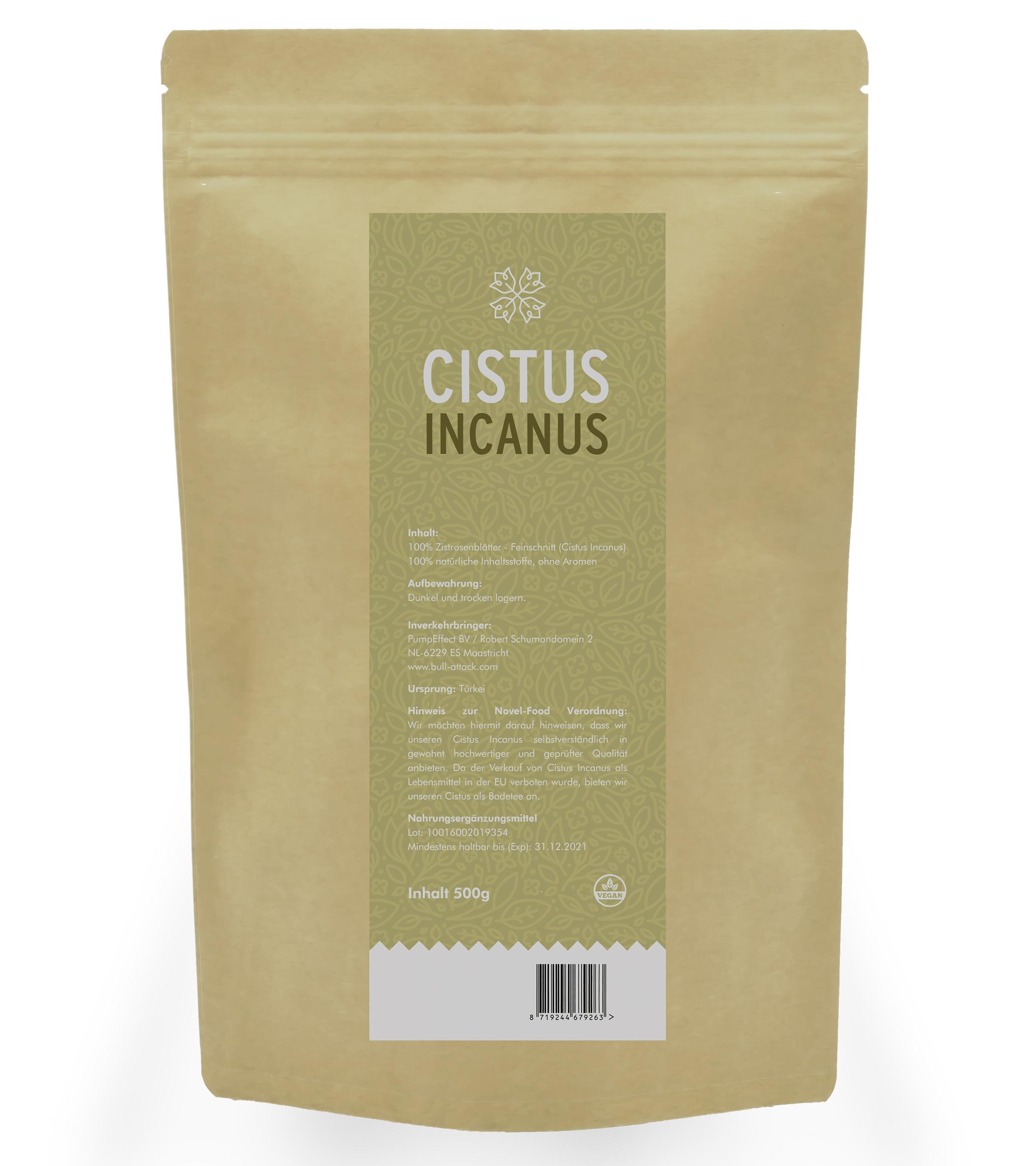 Cistus Incanus Tee  - Zistrosentee Feinschnitt