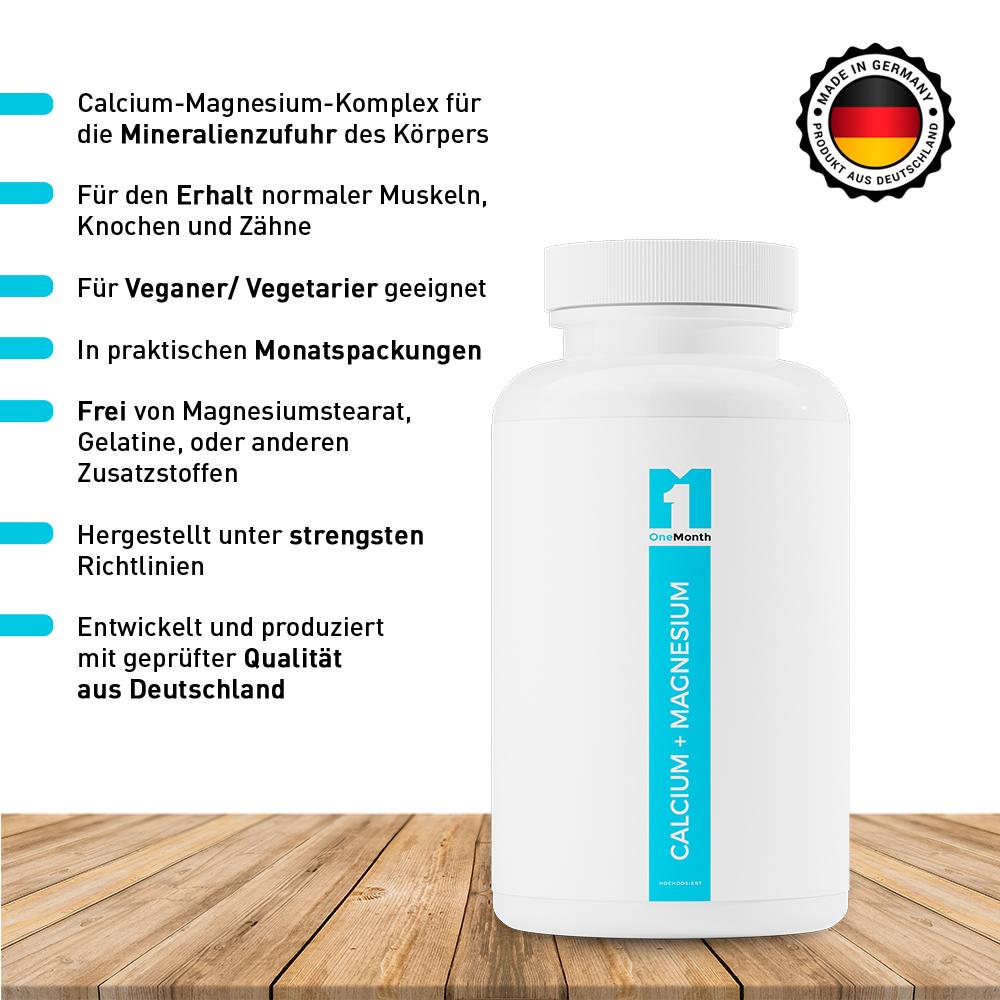 Calcium + Magnesium Kapseln
