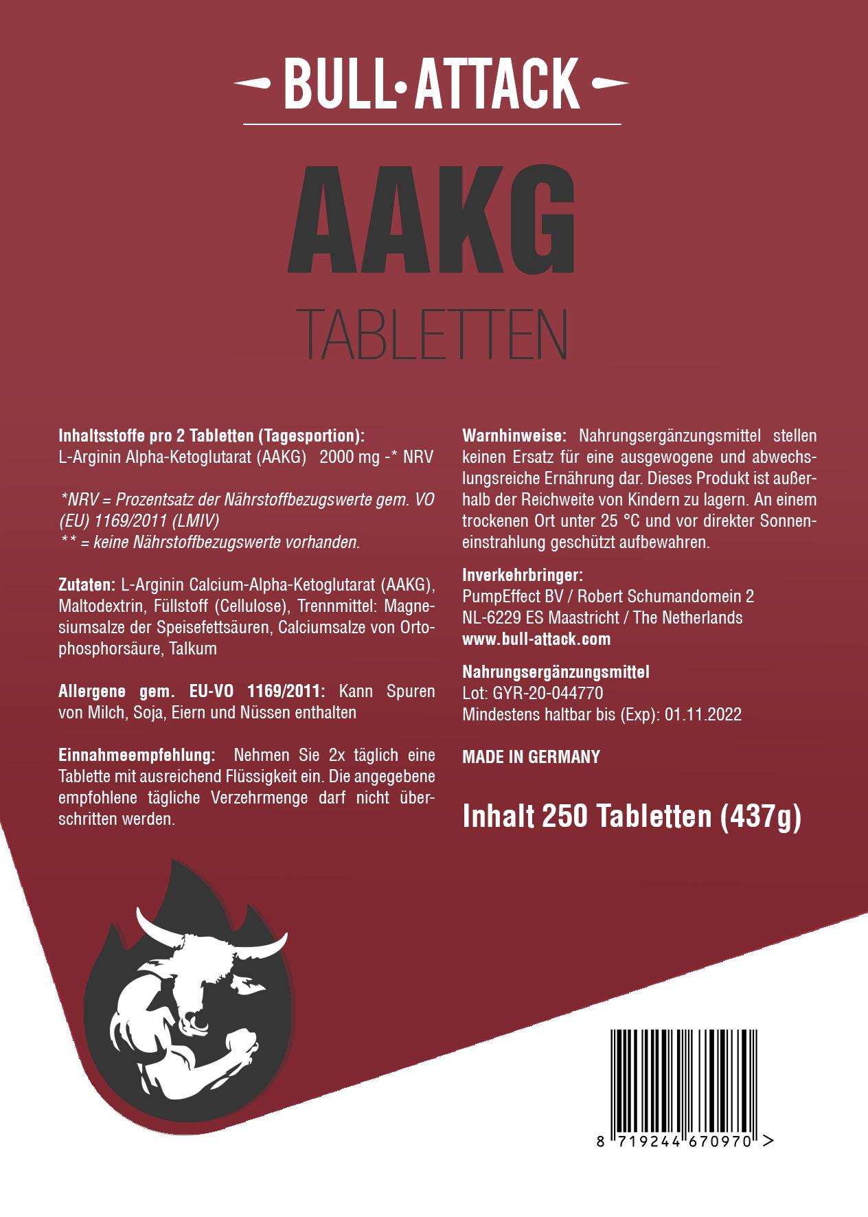 AAKG | 250 Tabletten