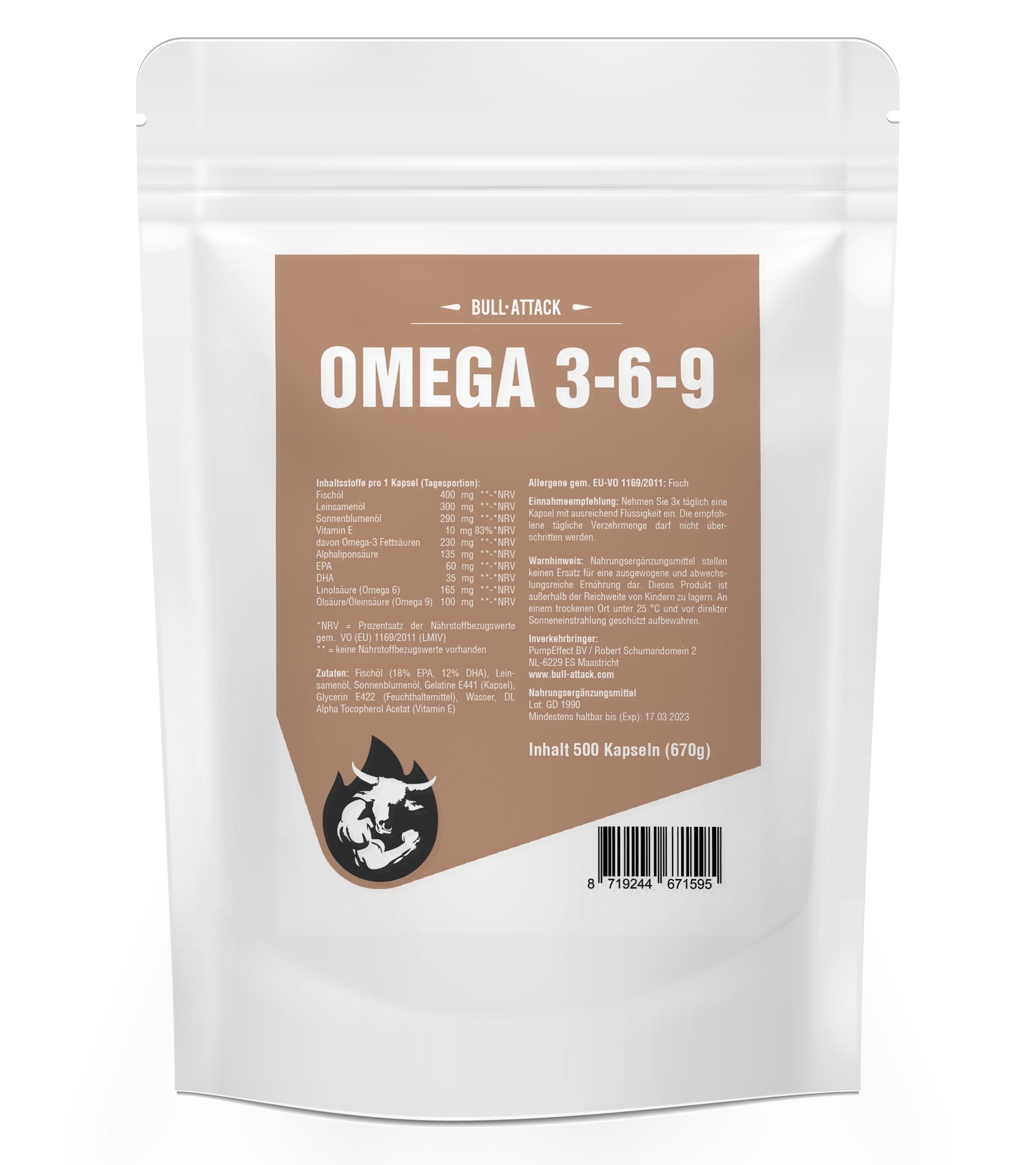 Omega 369   500 Kapseln