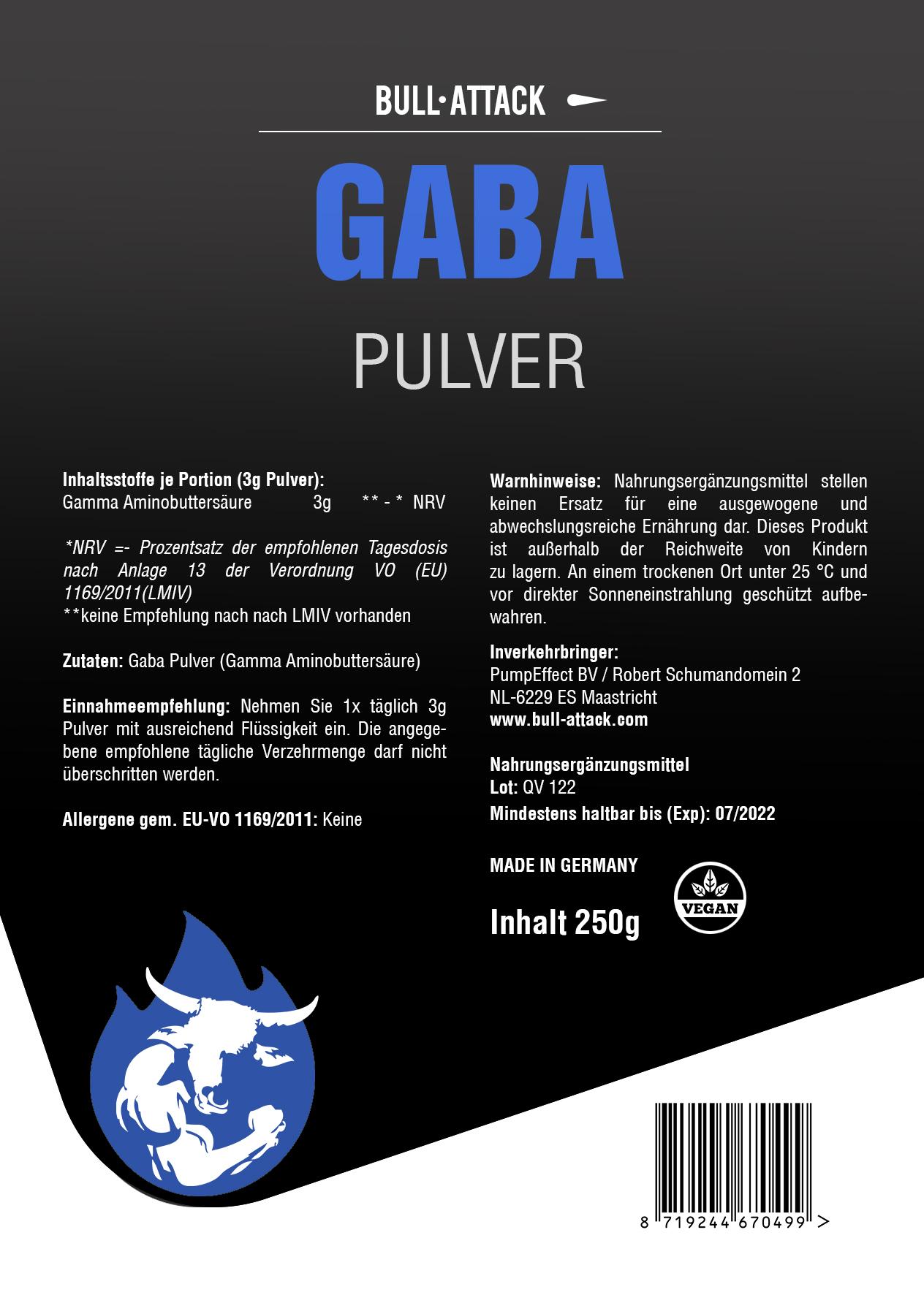 GABA | 250g Pulver
