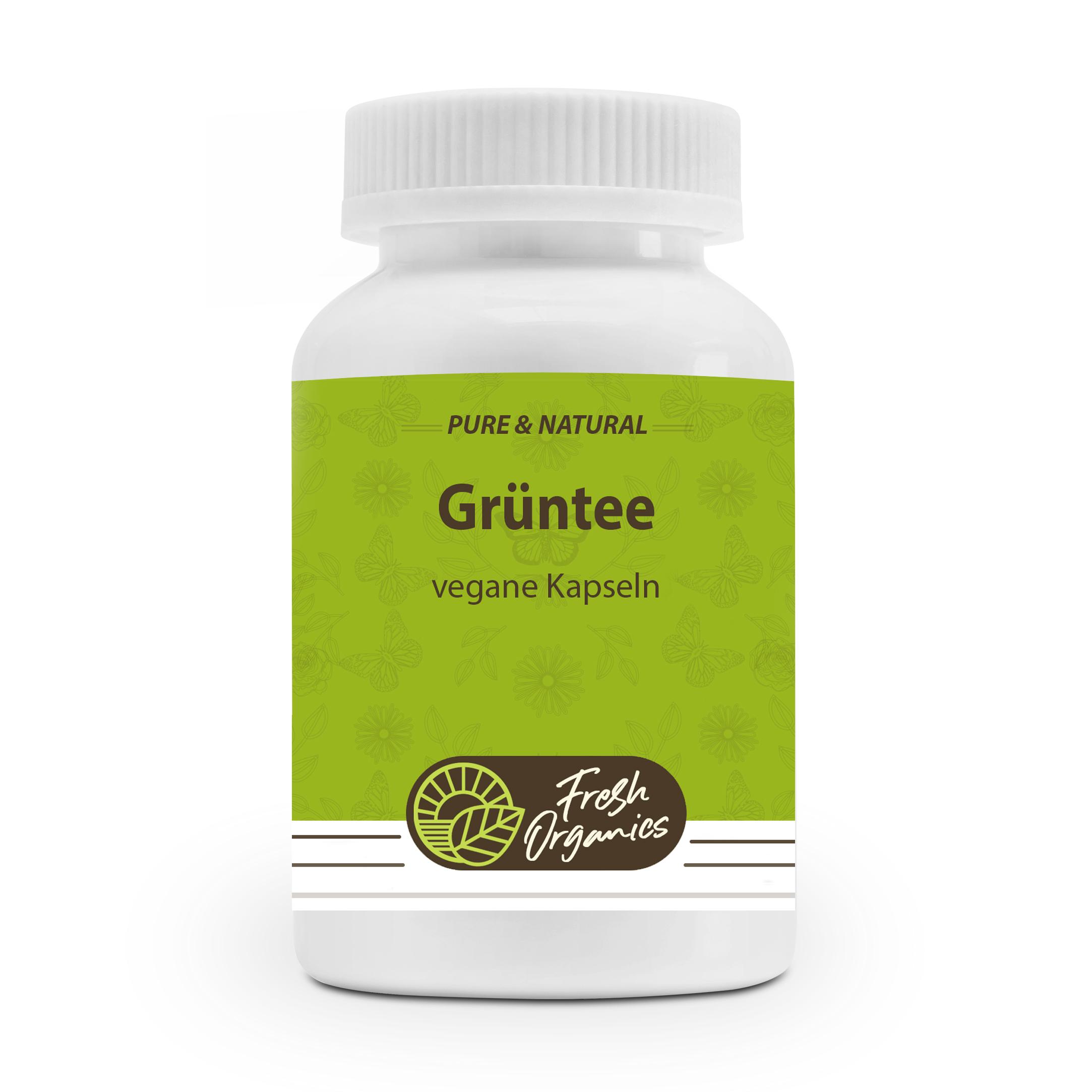 Green Tea Extract | 180 grüner Tee Kapseln